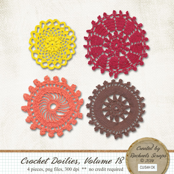 Crochet Doilies, Volume 18
