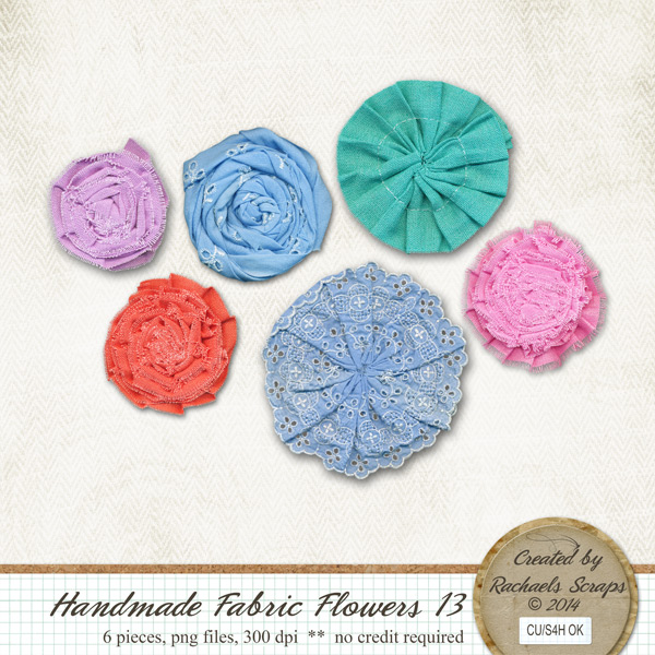 Handmade Fabric Flowers, Volume 13