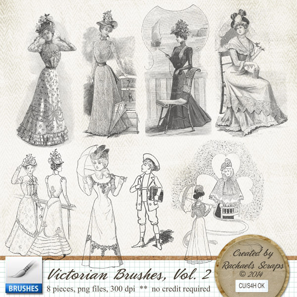 Victorian Brushes, Volume 2